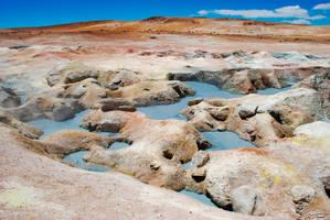 Mud volcano by Yupa
