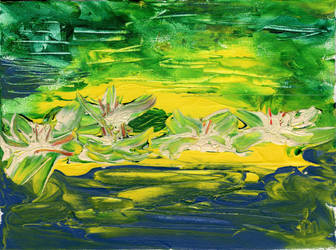 Lily Pond by Vryka