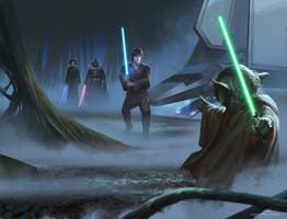 Without a New Hope ( Right ) by JohnathanChong