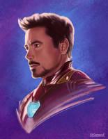 Tony Stark by edcarrascal