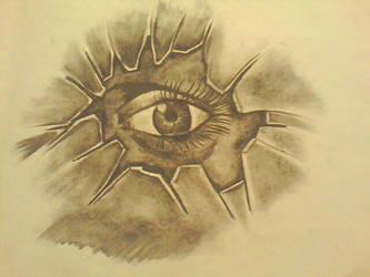 Eye thru glass.. by schnitzz