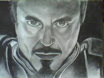 Robert Downey Jr. drawing by schnitzz