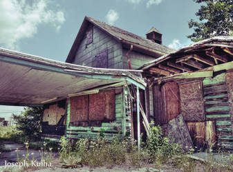 Lonely Old Motel 1 by AbstractRealist