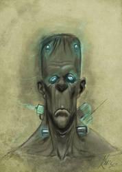 Monster Sketch by MacGwyver
