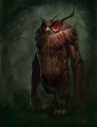 Cornish Owl Man Revised by MacGwyver