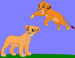 pouncing by neema-lion