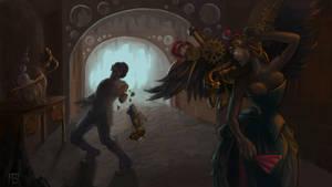 Steampunk Medusa by LynxMB