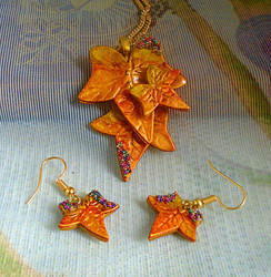 Autumn Glory Jewellery Set by aldcord