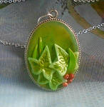 Ivy Pendant Necklace by aldcord