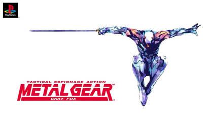 Metal Gear Gray Fox by Westbrionage