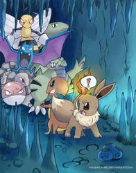 Pokemon Mystery Dungeon by AnaBaranski