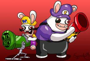 Mario + Rabbids: Bwario Bros by EggmanFan91