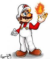 Super Mario: Fire Mario by EggmanFan91