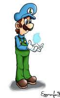 Super Mario: Ice Luigi by EggmanFan91