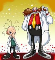 Sonic the Hedgehog : Former GUN Scientist by EggmanFan91