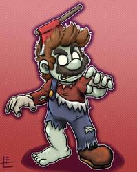 Super Mario Odyssey : Zombie Mario by EggmanFan91