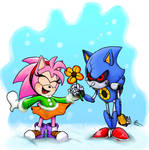 Sonic Mania Adventure : Amy and Metal by EggmanFan91