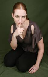 Female Sitting III by IQuitCountingStock