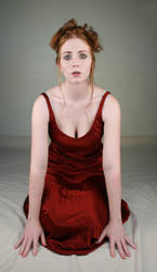Woman Red Dress II by IQuitCountingStock