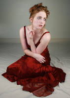 Woman Red Dress XI by IQuitCountingStock
