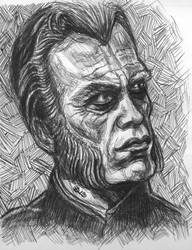 The Reverend Gregory Trask ballpoint study by TheDaveL