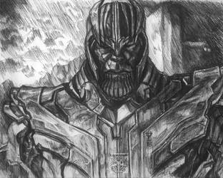 Thanos study by TheDaveL