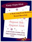 Keep Hope Alive Poster by ilovekakashi28