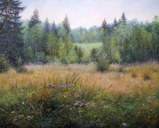 Landscape by AwaaraC