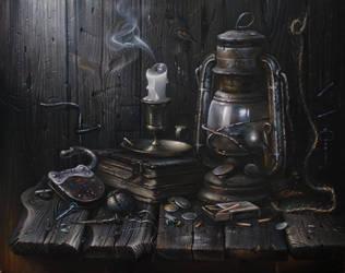 Old still life by AwaaraC