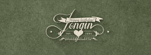 Typography - Happy Birthday Jongin #1 by GenieDyo