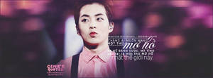 06072015. Quotes Xiumin - Daydreams. by GenieDyo