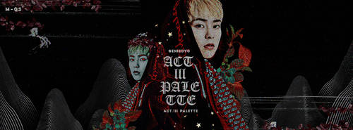 GENIEDYO x ACT.III PALETTE (Header Version) by GenieDyo