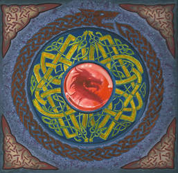 Dragon Mandala by Illusions-of-TV