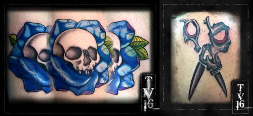 First Apprentice Tattoos by Illusions-of-TV