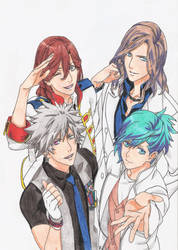 Quartet night by kazekage121