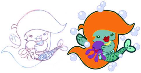 Mermaid by MKnapik