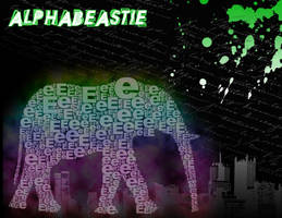 Elephant Alphabeastie by Holliewood1391