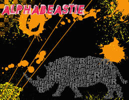 Rhino Alphabeastie by Holliewood1391