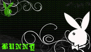 Playboy Bunny Background by Holliewood1391