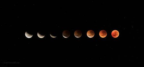 Blood Moon 2018 by heeeeman