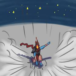Dead Cells Hero Landing by Braintikk