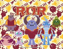 ROR Roar Omega Roar by Mileymouse101