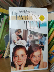 Parent Trap 1998 VHS by Mileymouse101
