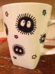 Soot sprites coffee mug by Craftn-Daly