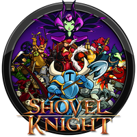 Shovel Knight Icon by andonovmarko