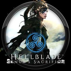 Hellblade - Senua's Sacrifice Icon by andonovmarko
