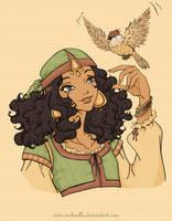 Jahia, Fille des sables by Rachaella