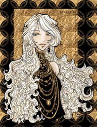 Gold Rachaella by Rachaella