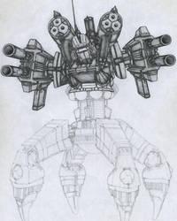 Thor Robot - Nisan Tuazon by Baner86