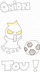 Soccer onion Tou by LilChocoholic